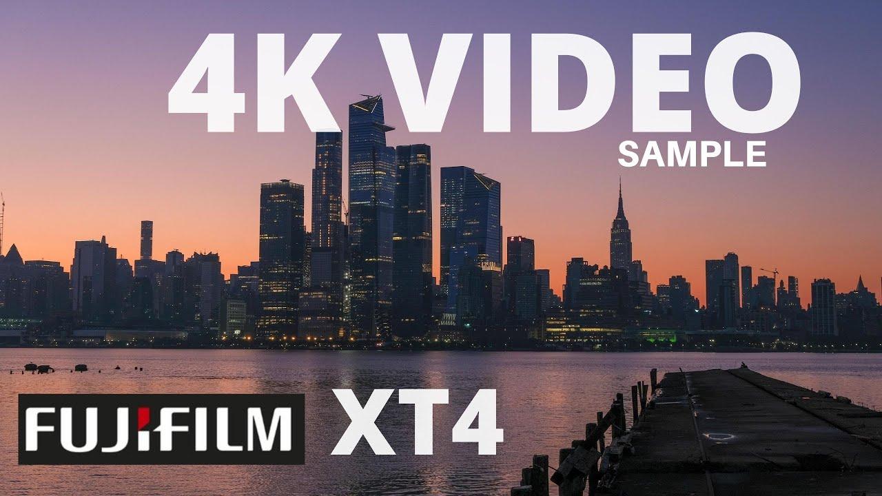 Fujifilm XT4 Video and Photo Samples in 4k Hoboken NJ