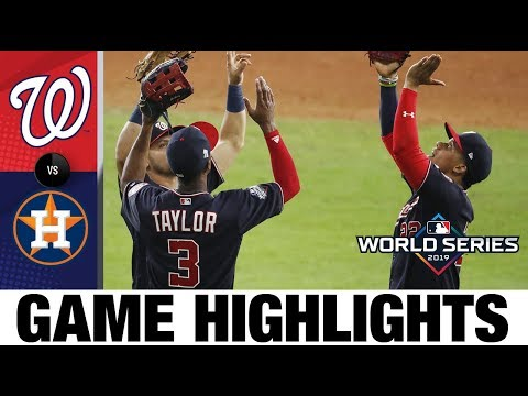 Nationals Ride 6-run 7th To World Series Game 2 Win | Nationals-Astros MLB Highlights