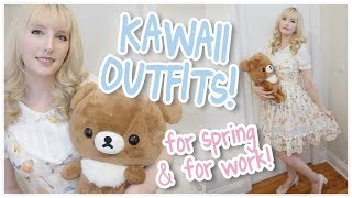 Gambar cover Koguma-chan Inspired Outfit! + Looks for Work & Kawaii Dress Haul!