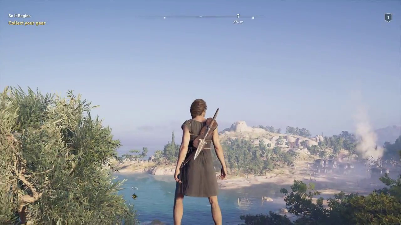 Assassin's Creed Odyssey Kassandra First Armor Outfit