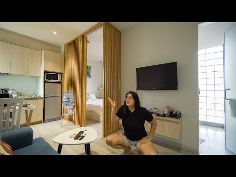 My $600 Per Month Serviced Apartment Tour in Saigon (HCMC) Vietnam