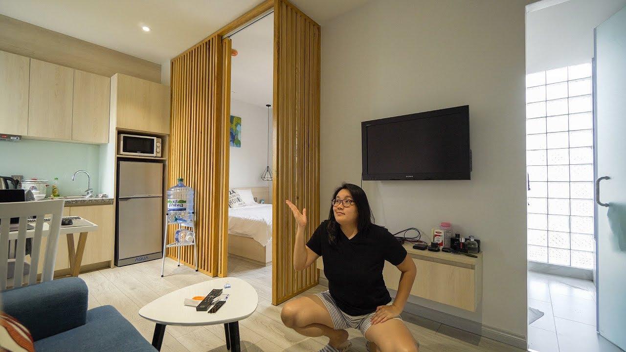 My $600 Per Month Serviced Apartment Tour in Saigon (HCMC) Vietnam