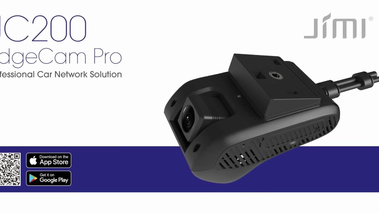 JC200 EdgeCam Pro Car Dashcam