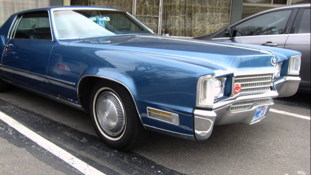 1970 Cadillac Eldorado At Burger Run 1 10 2015 Youtube