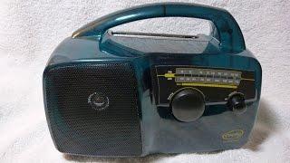 1996 Freeplay model 96/6472 crank powered radio (South Africa)