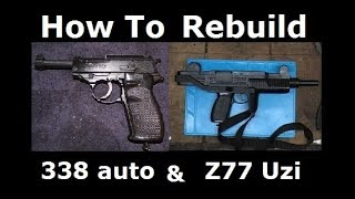 How To Rebuild Crosman z77 & 338
