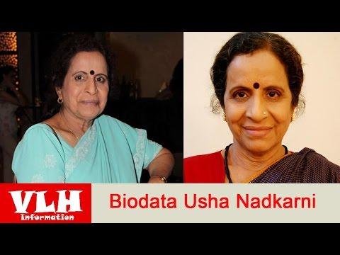 Biodata Usha Nadkarni Pemeran Savita Damodar Deshmukh Dalam Serial Archana Mencari Cinta Di ANTV