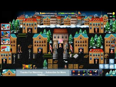 Diggy's Adventure CANADIAN POST OFFICE Christmas 2017 Special Location Level 119