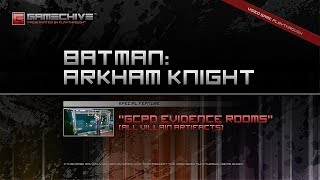 Batman: Arkham Knight (PS4) Gamechive (Special Feature: GCPD Evidence Rooms)