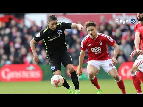 NOTTINGHAM FOREST 3 BRIGHTON & HOVE ALBION 0