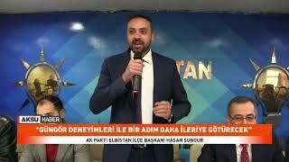 Ak Parti Elbistan Teşkilatında Partilileri İle Bir Araya Geldi