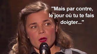 """vuclip BLANCHE GARDIN : """"Par contre, quand tu te fais doigter..."""" - (2019)"""