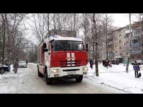 11 января 2017 Пожар в г.Иваново на ул.Кавалерийская