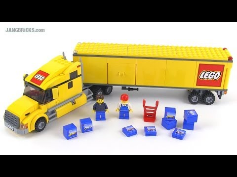 Official Lego City Truck Set 3221 From 2010 Youtube