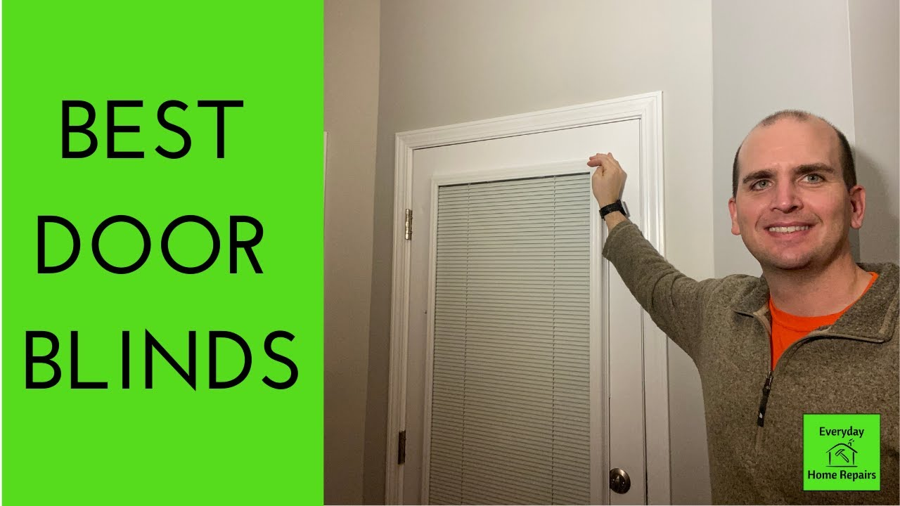how to install add on blinds to a patio door