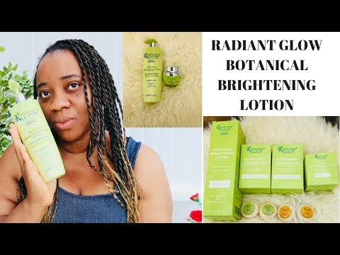 RADIANT GLOW BOTANICAL LIGHTENING LOTION