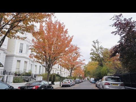 Walking Notting Hill London