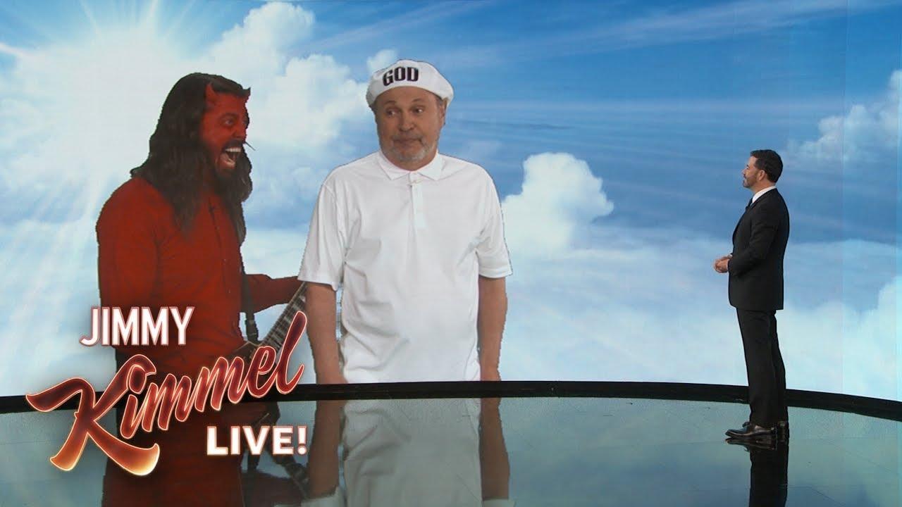 God & Satan Visit Jimmy Kimmel