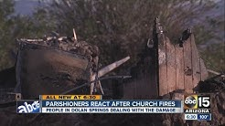Two churches set on fire in Dolan Springs