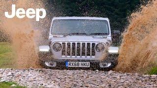 2019 Jeep Wrangler Sahara Off-Road Driving | Billet Silver (UK Spec)
