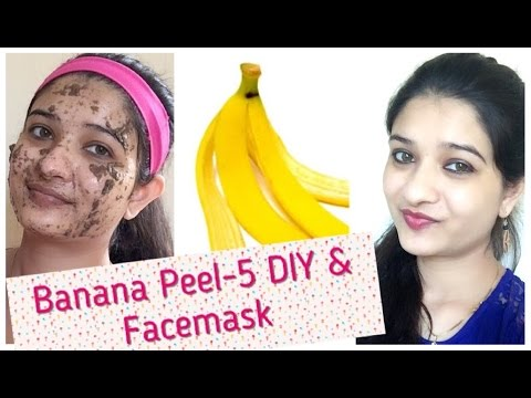 Banana for facial care