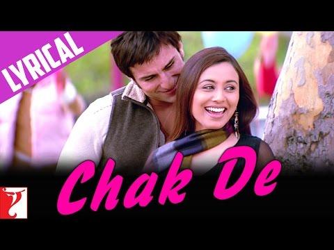 Lyrical: Chak De Song with Lyrics | Hum Tum | Saif Ali Khan | Rani Mukerji | Prasoon Joshi