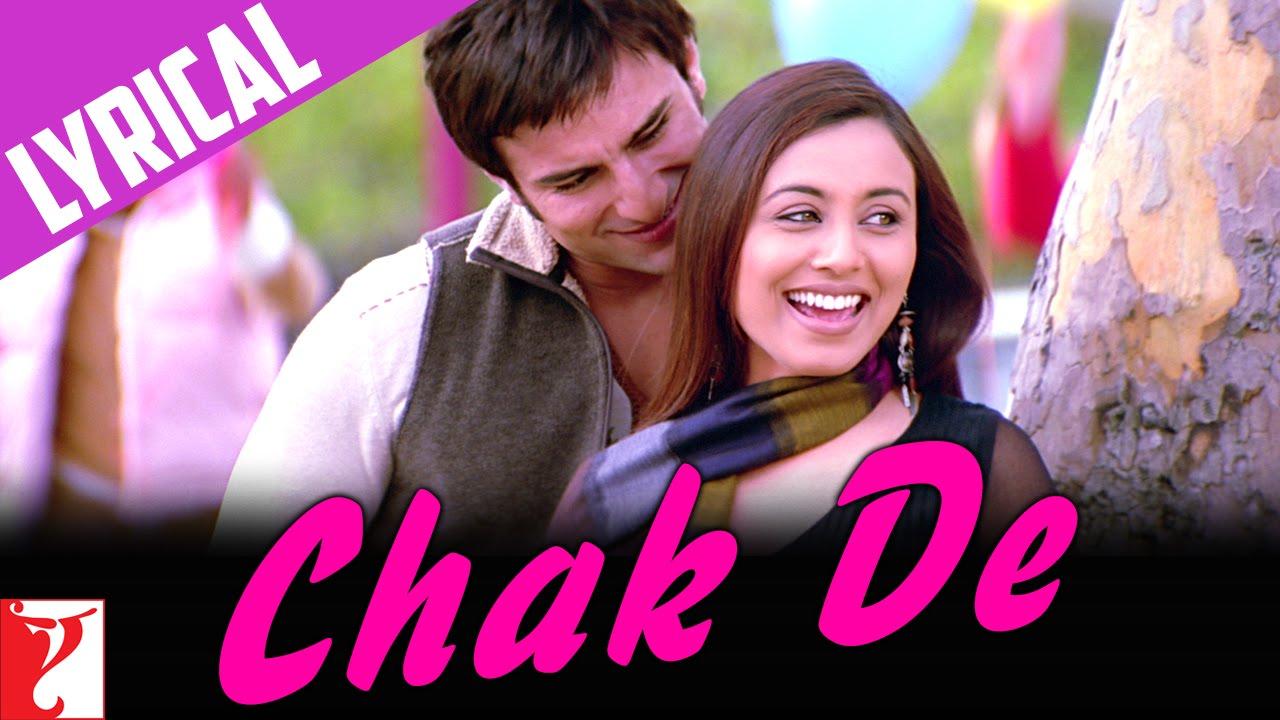 Download Lyrical | Chak De Song with Lyrics | Hum Tum | Saif Ali Khan | Rani Mukerji | Prasoon Joshi