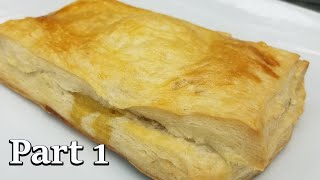 How To Make Haitian Puff Pastry Patties from SCRATCHChicken Puff Pastry Patties PART 1