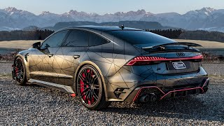 PREMIERE! 2020 AUDI RS7-R SPORTBACK 740HP - THE NEW BEAST FROM ABT SPORTSLINE IN DETAILS - 920NM!