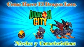 Como Hacer El Dragon Lava De Dragon City