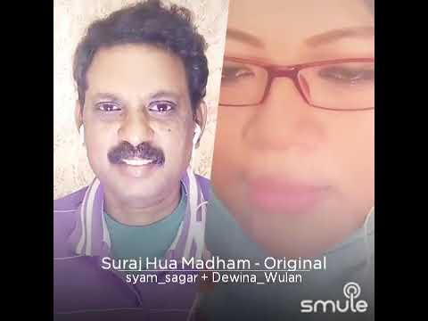 k3g---suraj-hua-maddham-chand-|-shah-rukh-khan,-kajol-|-syam-sagar-sings-with-dewina-(indonesia)