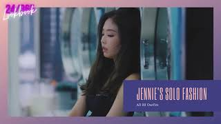 【BLACKPINK X Jennie】How much Jennie spend on《SOLO》MV 😱  || ALL 21 Outfits || HD