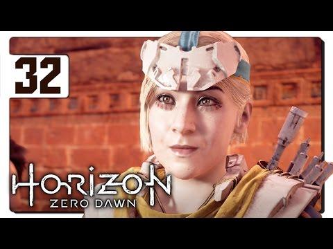 Let's Play Horizon Zero Dawn Blind Part 32 - Tallneck Capture [Horizon Zero Dawn PS4 Gameplay]
