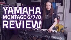Yamaha Montage 6 Synthesizer 61 Key Keyboard Workstation Review