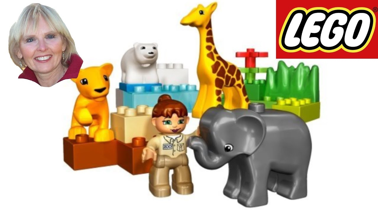 LEGO Duplo Ville Baby Zoo - YouTube