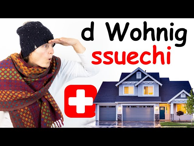 Renting an apartment in Switzerland. Swiss German lesson for advanced students.
