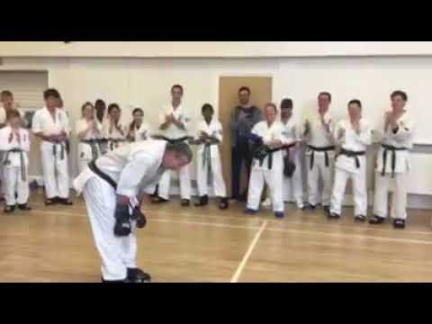 Kyoshi Stuart Wilson Completes 62 Fights for the Cardiac Unit