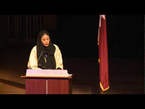 10th Annual GU-Q Model United Nations Opening Ceremony 2015