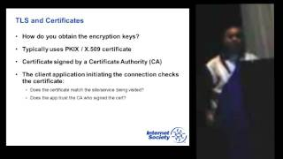 ION Cape Town - DANE: The Future of Transport Layer Security (TLS)
