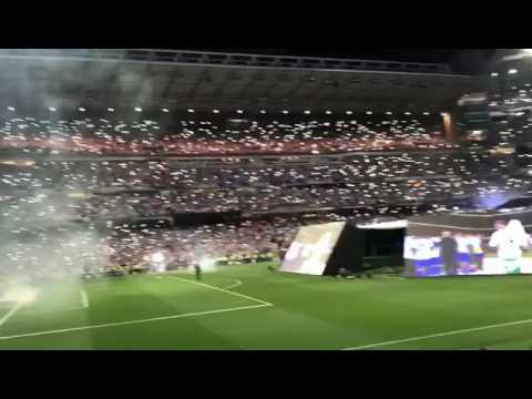 Nobar Final Liga Champion di Santiago Bernabeu . Merinding liat apa yang terjadi