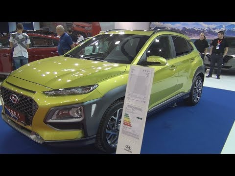 Hyundai Kona Hybrid 1.6 GDI 141 hp 6DCT Premium (2020) Exterior and Interior