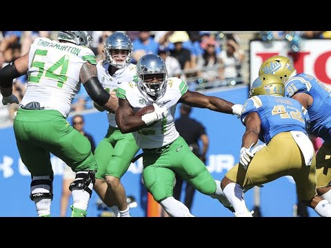 Highlight: Royce Freeman becomes Oregon