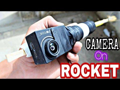 Camera On Powerful Sugar Rocket - वाट लग गई   Experiment
