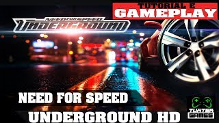 Need for Speed Underground HD Ubuntu Gameplay