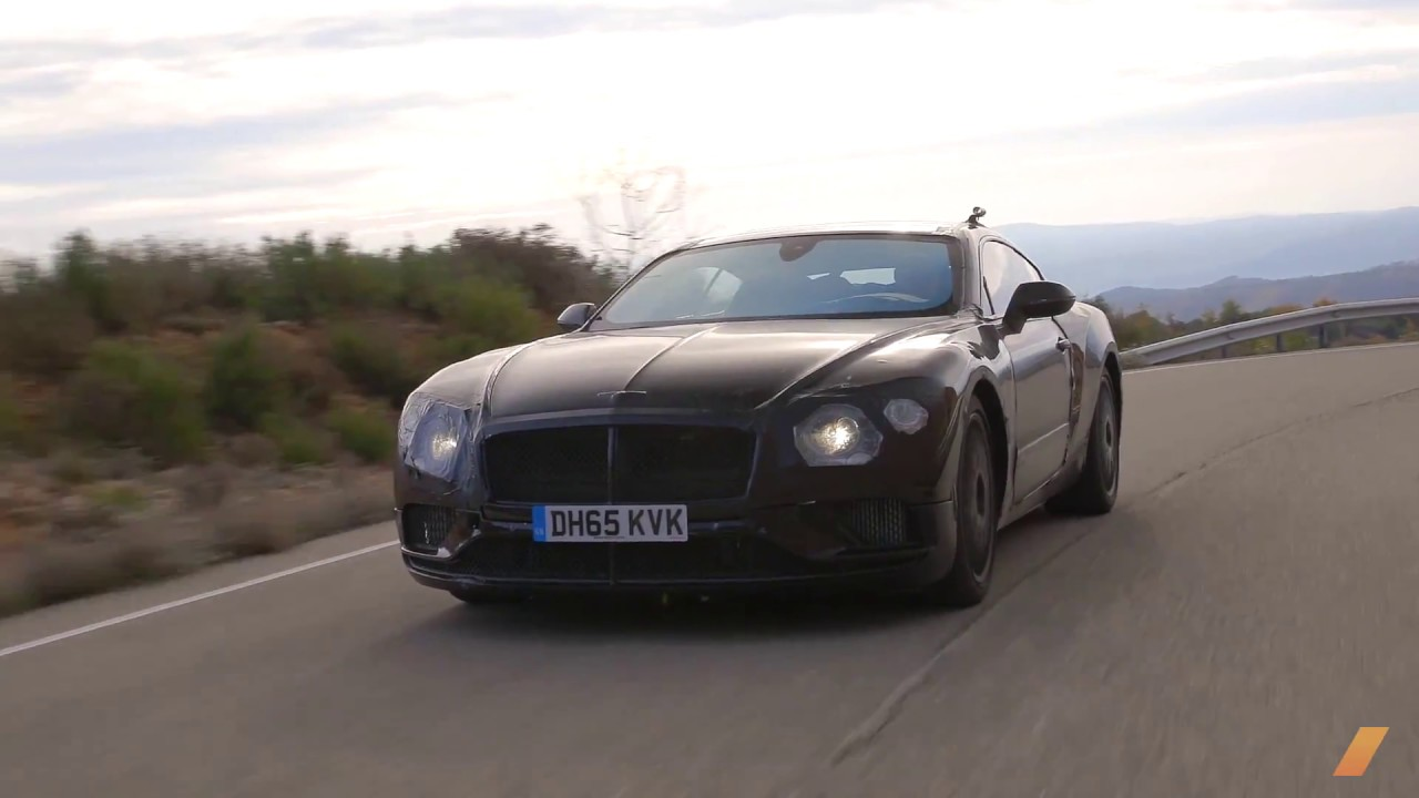 2019 Bentley Continental Gt Prototype Testing In South Africa