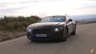 2019 Bentley Continental GT Prototype Testing in South Africa -- /INSIDE BENTLEY