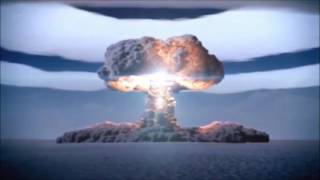 Tsar Bomba, test detonation of the largest thermonuclear Hydrogen Bomb ever created