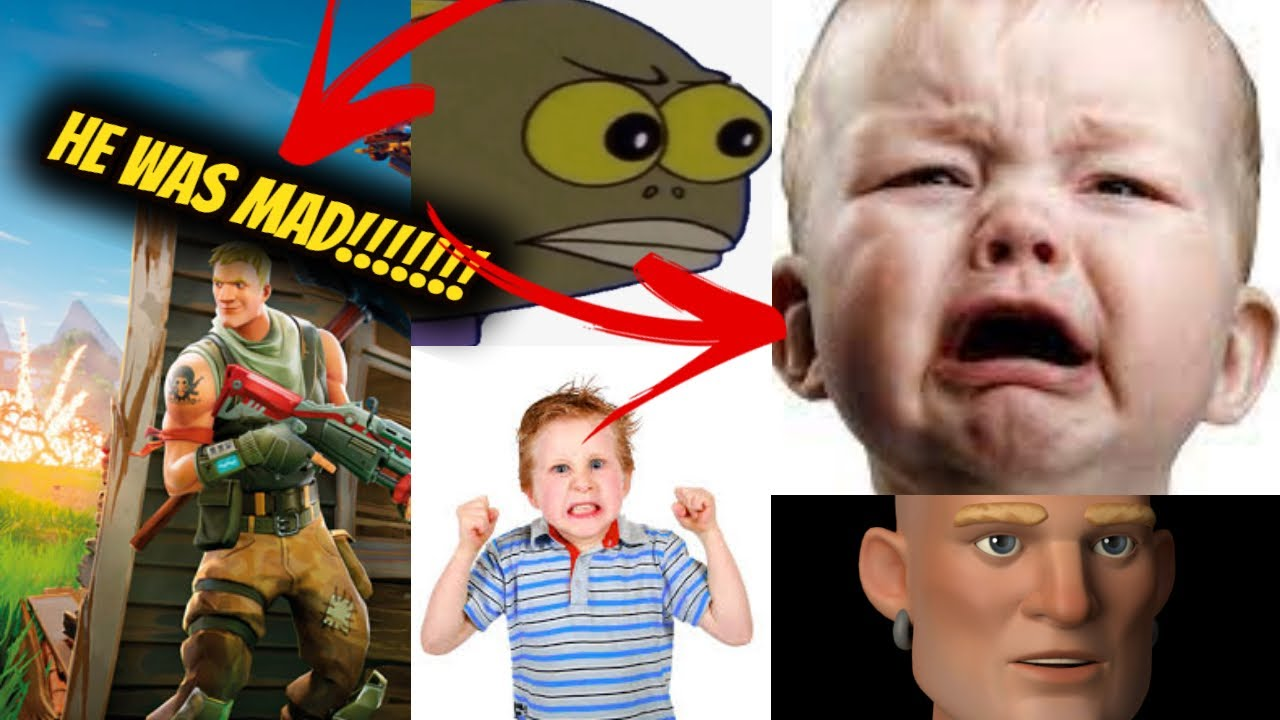 THIS KID GOT SO MAD THAT BROKE HIS PS4 (Fortnite Funny Moments)