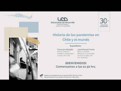 """Charla """"Historia de las pandemias en Chile y el mundo"""""""