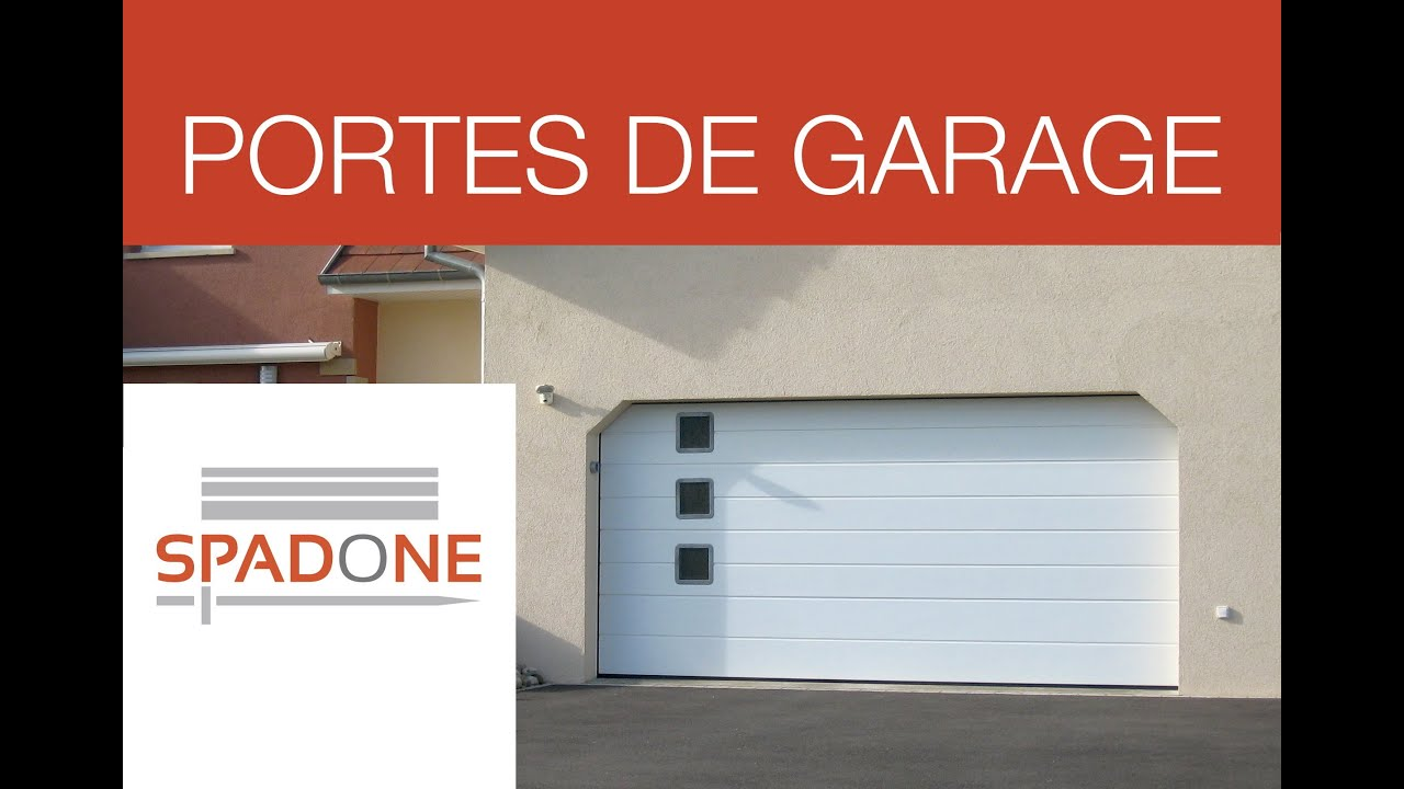 fabricant de portes de garage axone spadone youtube. Black Bedroom Furniture Sets. Home Design Ideas